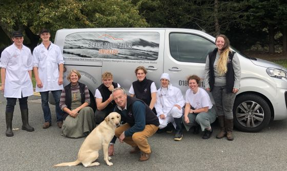 Black Mountains Smokery Christmas Team 2018