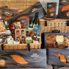 Black Mountains Smokery Luxury Christmas Food Hampers Gourmet Gifts