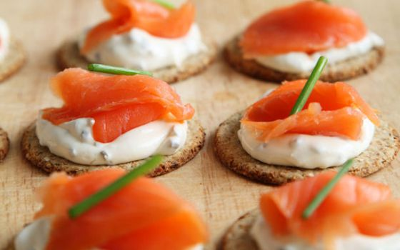 Quick and Easy Canapes 560