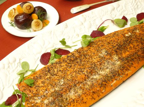 Oak Roasted Salmon- Ready to Eat Party Food Recipe