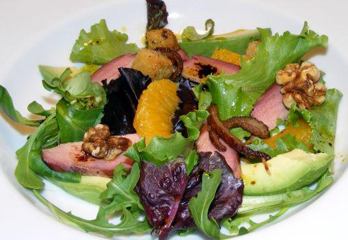 Smoked Duck and Orange Salad Recipe