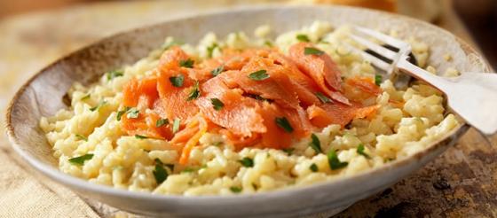 Smoked Salmon Risotto Recipe