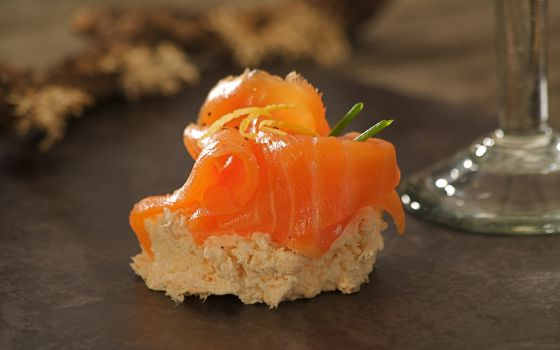 Smoked Salmon Tian