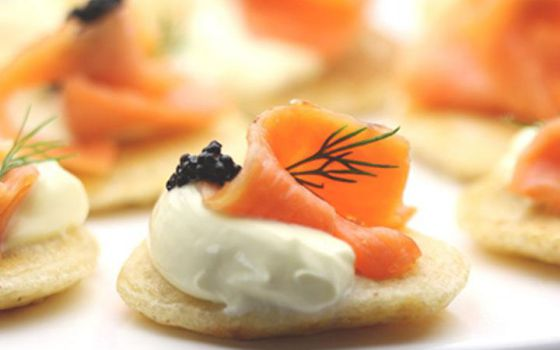 Smoked Salmon Caviar Recipe