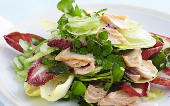 Smoked Trout and Apple Salad Recipe