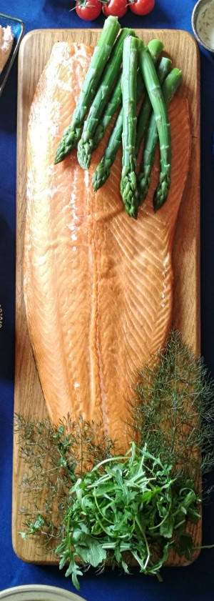 Black Mountains Smokery Oak Roast Salmon Side