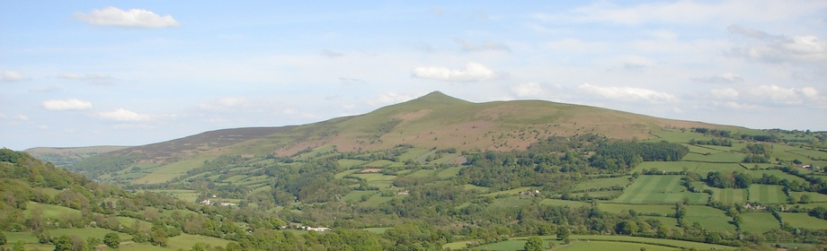 Sugar loaf mountains, brecon beacons